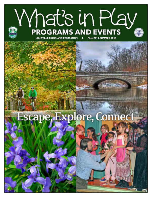 Recreation Guide 2017-18 PRO GUIDE ONLINE