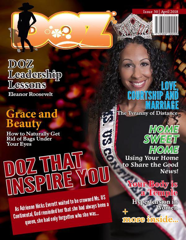 DOZ Issue 30 April 2018