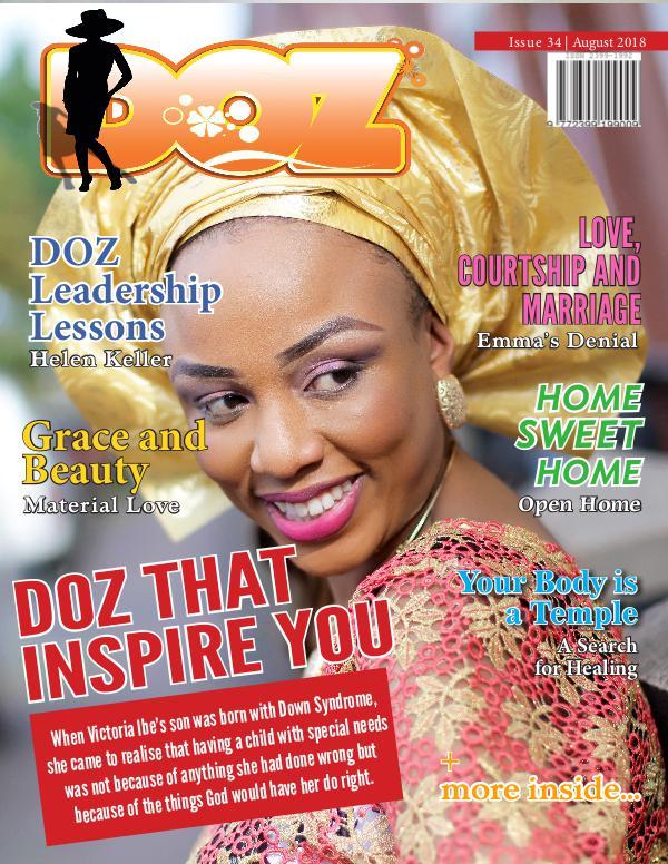 DOZ Issue 34 August 2018