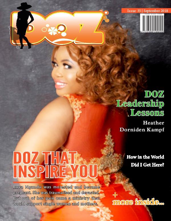 DOZ Issue 35 September 2018