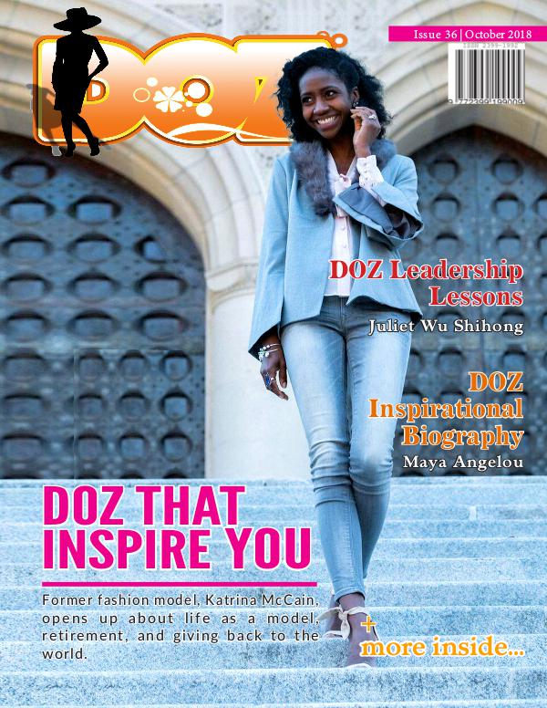 DOZ Issue 36 October 2018