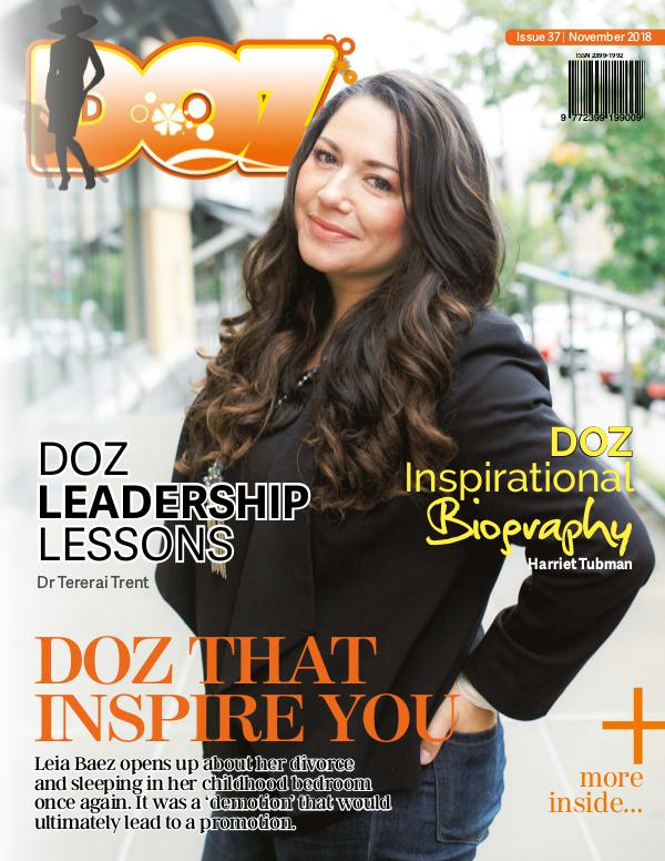 DOZ Issue 37 November 2018