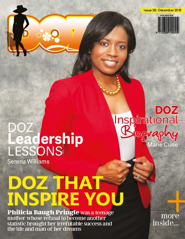 DOZ Issue 38 December 2018