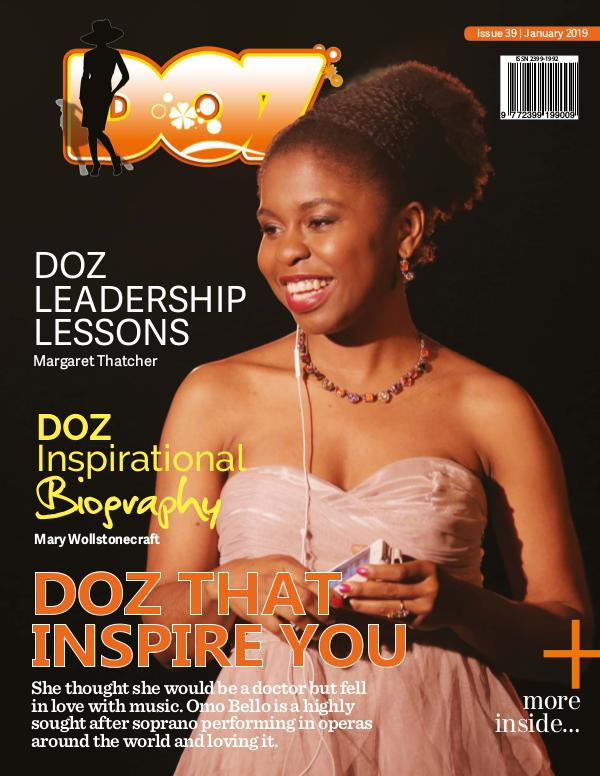 DOZ Issue 39 January 2019