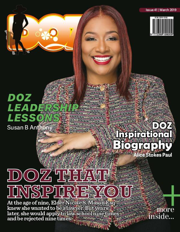 DOZ Issue 41 March 2019