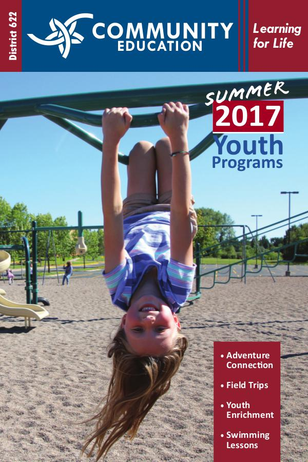 District 622 Community Education Youth Programs Youth Programs Summer 2017