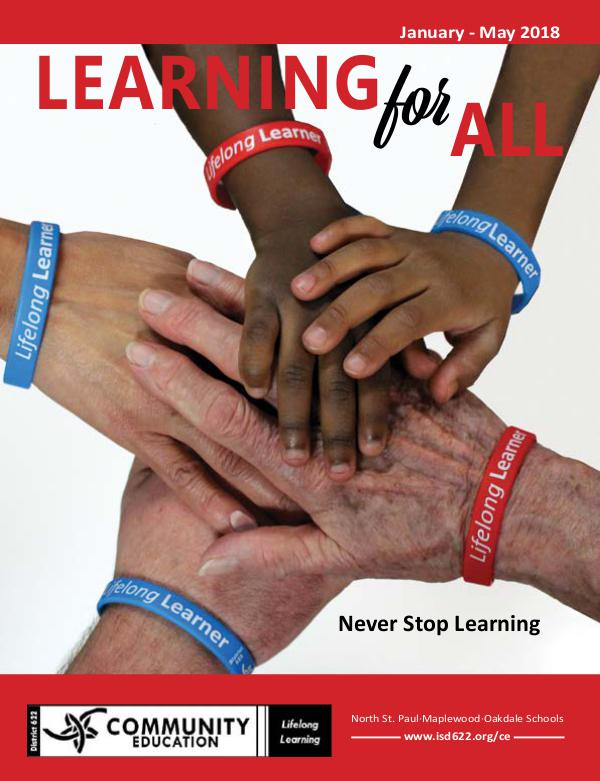 Learning for All Catalog Winter Spring 2018