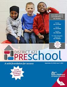District 622 Preschool Catalog