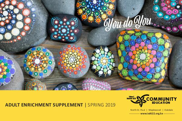 Adult Enrichment Spring Supplement Spring 2019