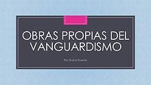 Obras Vanguardistas