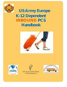 US Army Europe K-12 INBOUND PCS Handbook