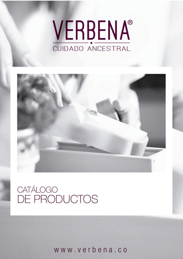 Catálogo VERBENA DISTRIBUIDORES PRECIOS