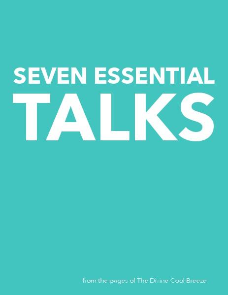 DCB GALLERY Seven Essential Talks