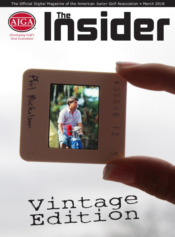 The Insider March, 2018