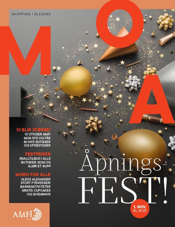 AMFI Moa Åpningsmagasin - tilbud og redaksjonelt