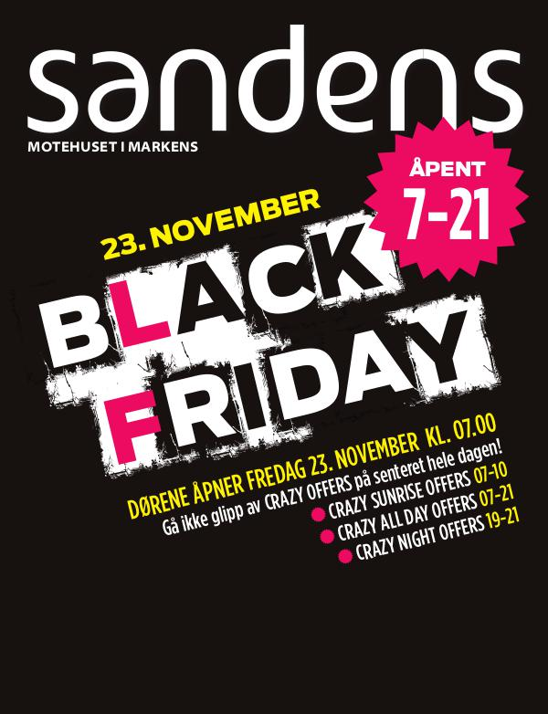 Sandens Black Friday