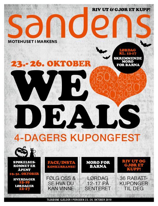 Sandens We Love Deals - kupongest!