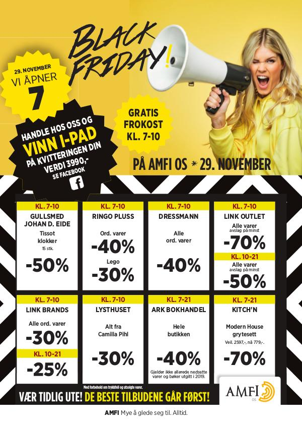 AMFI Os Black Friday 2019
