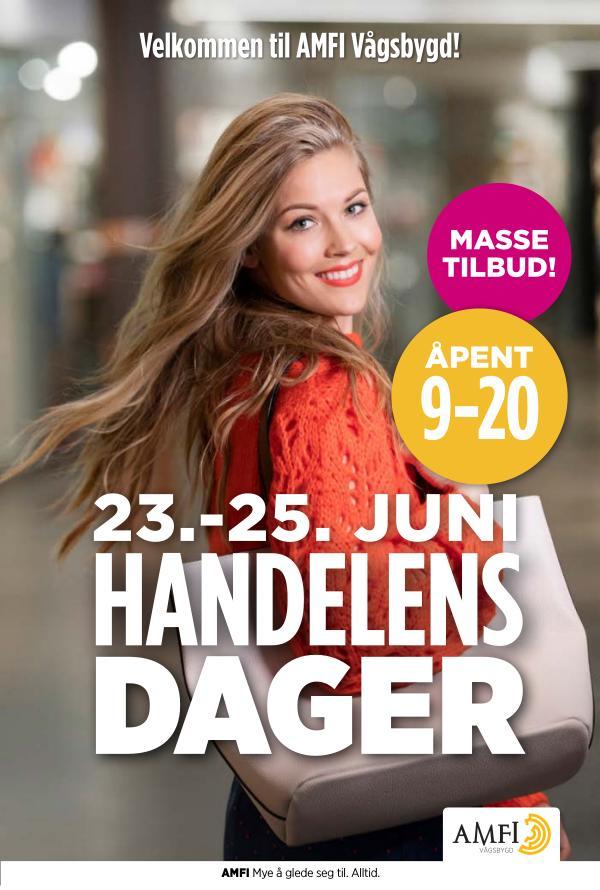 Amfi Vågsbygd Handelsen Dager 23.-25. juni Juni 2020
