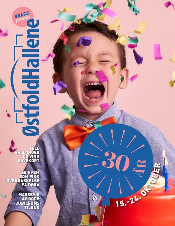 Østfoldhallene feirer 30 år!