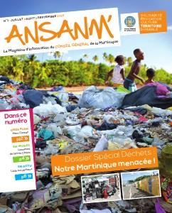 Ansanm, le magazine du Conseil Général de la Martinique #1 / Juillet 2013