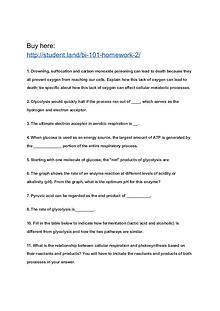 BI 101 Homework 2