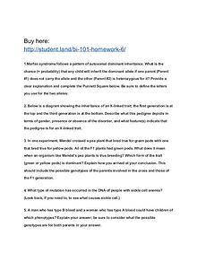 BI 101 Homework 6