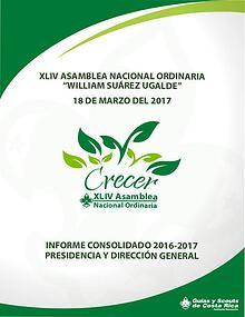 Informe Asamblea 2017