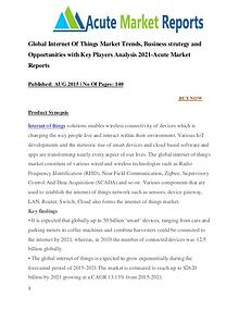 Global Internet Of Things Market Research Report