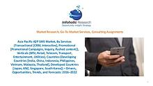 Asia Pacific A2P SMS Market – Trends and Forecasts 2016-2022