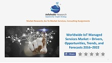 Worldwide IoT Managed Services Market – Trends & Forecasts 2016-2022