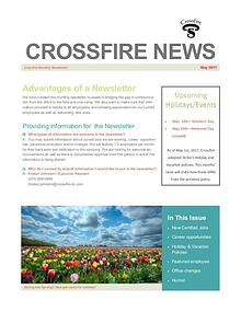 Crossfire Monthly Newsletter