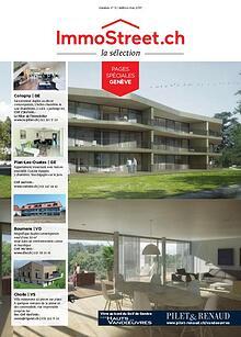 La Sélection ImmoStreet.ch - leader des magazines immobiliers en Suis