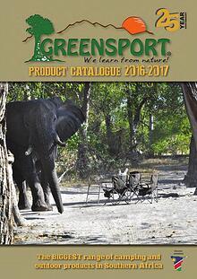 CYMOT Greensport Product Catalogue 2016-2017