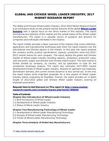 Global Wheel Loader Industry Analyzed in New Market Report