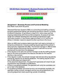 CIS 353 RANK Extraordinary Life/cis353rank.com