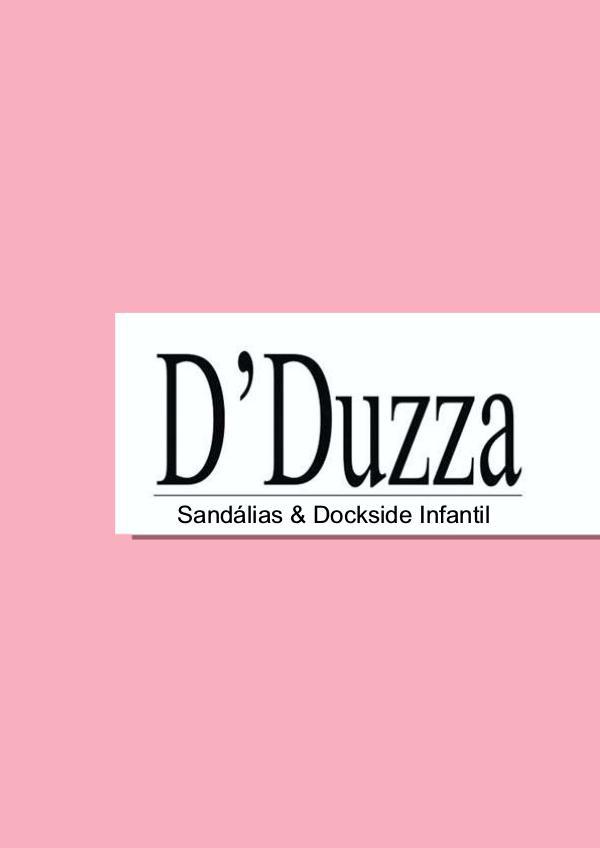 D`Duzza Sandálias & Dockside Infantis D`Duzza Sandálias & Dockside Infantis