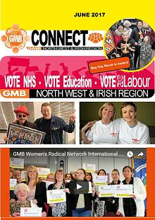 GMB North West and Irish Region Connect Magazine