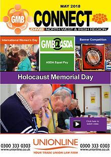 GMB North West and Irish Region Connect Magazine