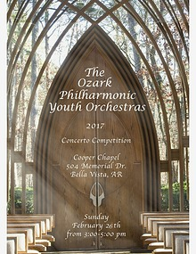 The Ozark Philharmonic Youth Orchestras Concerto Competition