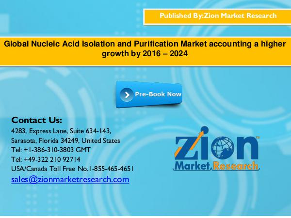 Global Nucleic Acid Isolation and Purification Mar
