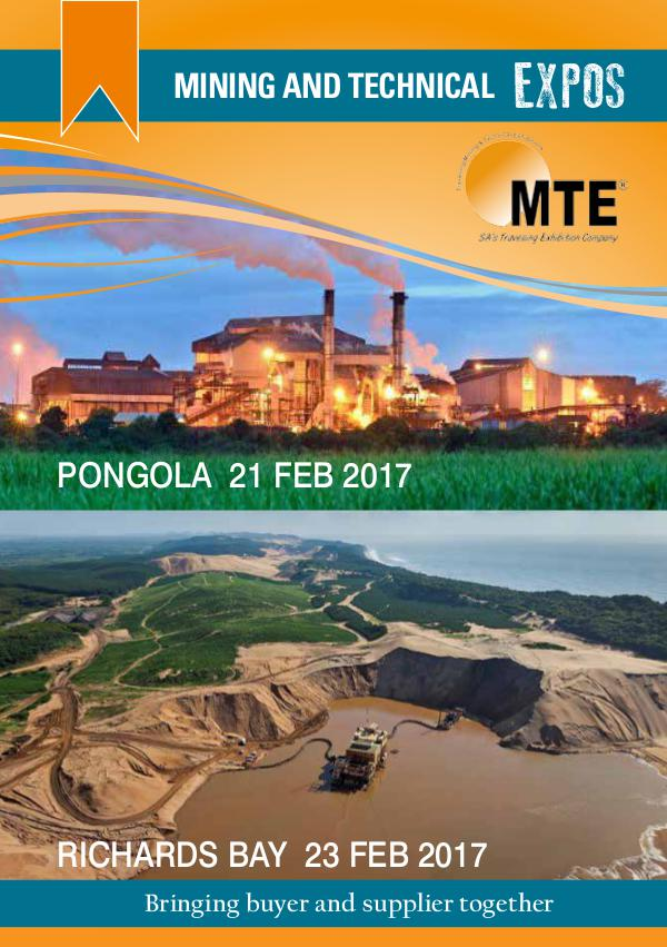 MTE Catalogues Pongola and Richards bay 2017