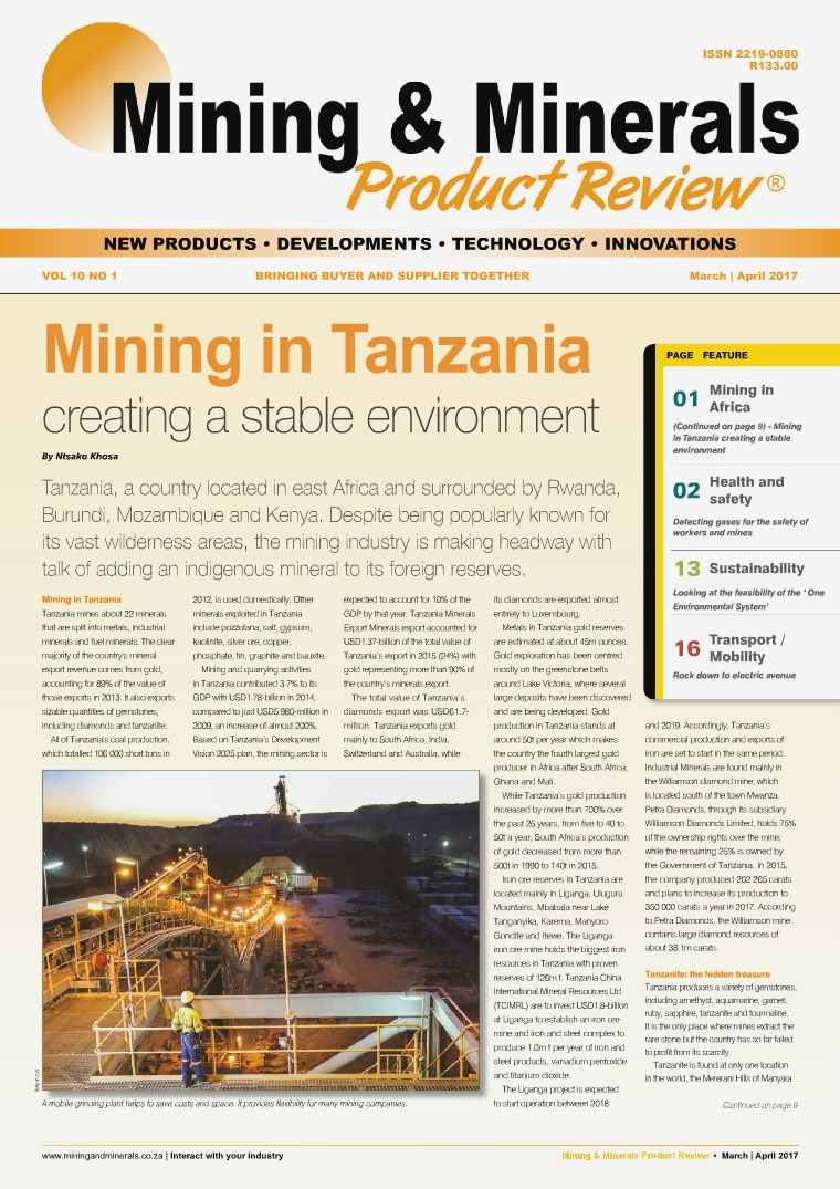 Mining & Minerals Product Review Mar/Apr 2017