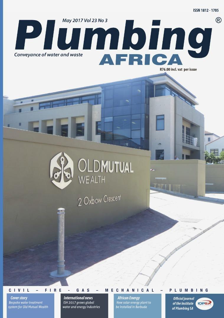 Plumbing Africa May 2017