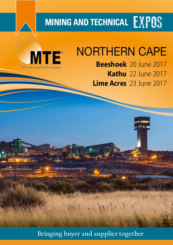 MTE Catalogues Northern Cape 2017