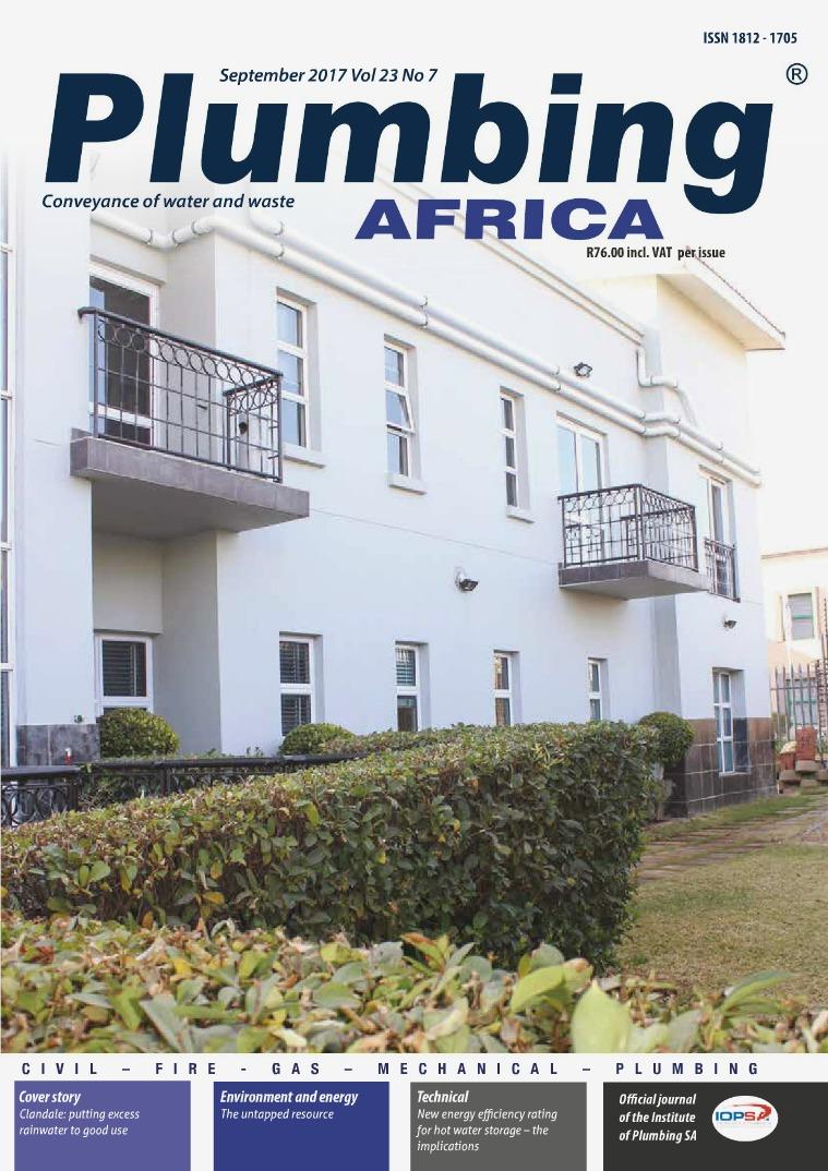 Plumbing Africa September 2017