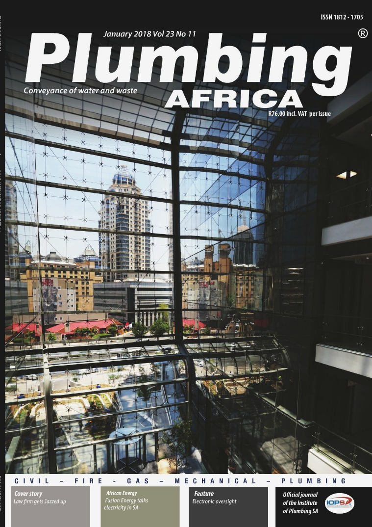 Plumbing Africa January 2018