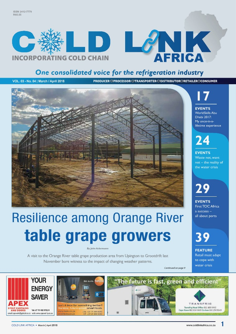 Cold Link Africa March/April 2018
