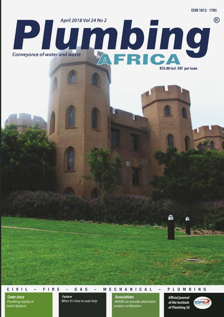 Plumbing Africa April 2018