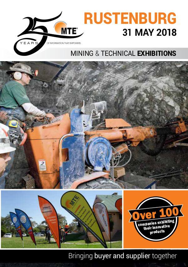 MTE Catalogues MTE Rustenburg 2018